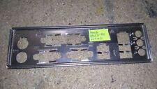 Panneau shield i/o Asus P5GZ-MX REV 1.00G plaque arriere