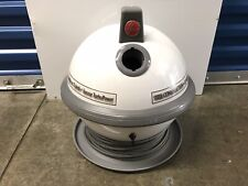 HOOVER CONSTELLATION ufo CANNISTER VACUUM MODEL S3341 WHITE & GRAY NO HOSE
