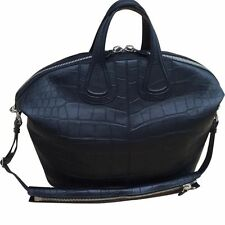 RARE Givenchy Black Alligator Crocodile Leather Carryall Satchel Handbag $36,900