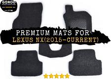Goroo Custom Car Floor Mats For Lexus NX (2015 - Current) Premium Quality