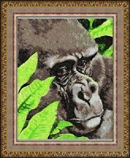Embroidered Sweatshirt - Gorilla DLE3534