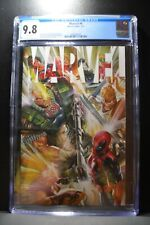 Marvel #4 CGC 9.8 White Pages Alex Ross Cover 2021 Marvel Comics 1st Printing