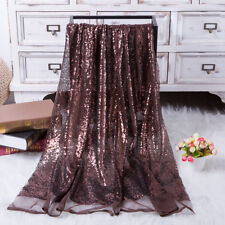 Glitz Embroidery Sequin Lace Fabric Mesh DIY Wedding Evening Party Event Dress