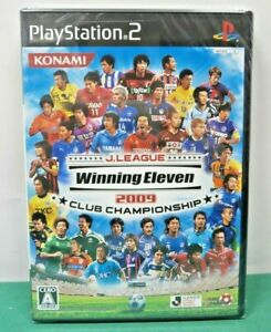 PlayStation2 - J.LEAGUE Winning Eleven 2009 CLUB - sealed new. PS2. JAPAN. 54200