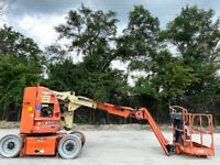 JLG E300AJP ELECTRIC NARROW ARTICULATING JIB BOOM LIFT JLG AERIAL LIFT