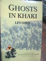 Ghosts in Khaki History 2/4th Machine Gun Battalion 8th Divi WW2 Australian Book