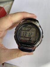 Casio World Time Wave Ceptor Digital Mens Quartz Watch 3053WV-58U
