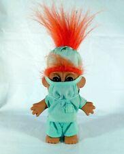 "Russ Doctor/Surgeon Troll / scrubs & mask 5"" tall / ""Social Distancing"" Doll! :)"