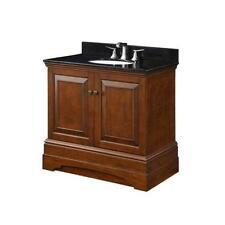 Wooden Cherry Single Bathroom Vanities