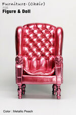 AS1001-06 The Vogue Metallic Peach Plastic Chair for Barbie FR FR2 Homme