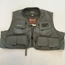 2012 SIMMS FREESTONE VEST IN GUNMETAL 2XL - RETAIL $79.95 - CLOSEOUT