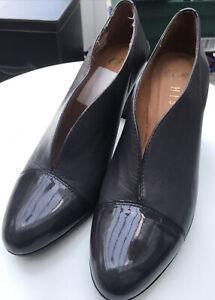 GLOVE SHOES HISPANITAS LADIES UK6 EU39 Spanish Leather Shoe Boot Mocca Brown