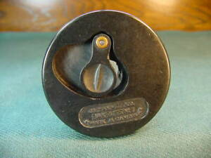 Vintage J L Hammett Co Bakelite No 6 Child's Desk Glass & Plastic Inkwell