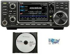 Icom IC-9700 VHF/UHF/1.2GHz Transceiver with  RS-BA1 V2 IP Remote Ctrl Software