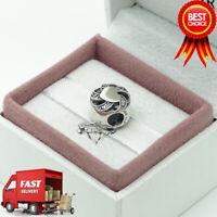 Pandora, Ribbon Heart, Love, Bracelet Charm 791976CZ
