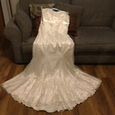 Wedding dress size 20. Berkertex. Ivory. Bandeau Fit And Flare.RRP£899.New + Tag