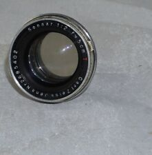 Carl Zeiss Jena Sonnar f2 5cm T Lens for Contax Rangefinder Camera