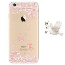 iPhone SE/5s/5 Cover Hülle Case Bumper Silikon TPU Schutzhülle Motiv 1   Aus🇩🇪