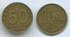 G12879 - German Democratic Republic 50 Pfennig 1950 A Berlin KM#4 DDR