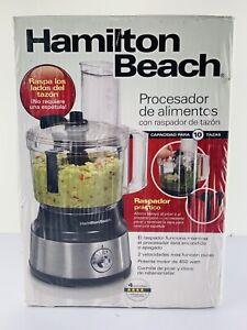 Hamilton Beach 70730 10-Cup Food Processor & Vegetable Chopper w /Bowl Scraper