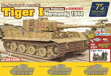 DRAGON 6947 1/35 Tiger I Late Production w/Zimmerit - Normandy 1944 TANK