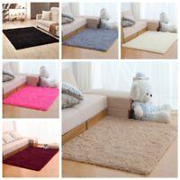 Fluffy Rugs Anti-Skid Shaggy Area Rug Home Bedroom Living Room Floor Mat Carpet