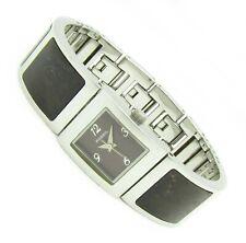 Fossil F2 Spangen Damen Armband Uhr Edelstahl Holz braun ES-1539 3ATM B neu N23