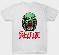 CREATURE FROM THE BLACK LAGOON T SHIRT FILM MOVIE RETRO VINTAGE 1950'S CULT