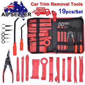 19X Car Trim Removal Tool Auto Hand Tools Pry Bar Dash Panel Door Interior Kit