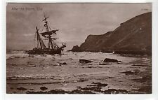 """AFTER THE STORM"", ELIE SHIPWRECK: Fife postcard (C21905)"