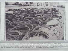 "1914 GERMAN IRON WIRE ""SHELL NETS""; CAPTURED GUNS BRANDENBURG GATE WWI WW1"