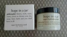 Philosophy hope in a jar super-hydrating mask 2 oz - NIB - NEW