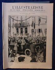 ILLUSTRAZIONE ITALIANA - N. 29/ 1923 - VISITA DEL RE A TERNI