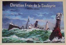 Christian Frain de la Gaulayrie, peintre vitréen, 1916-1989