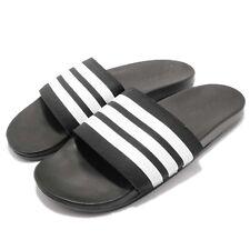 adidas Adilette Comfort Black White Men Sports Sandal Slides Slippers AP9971