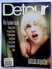 Mar 1997; DETOUR Magazine; THE FASHION ISSUE, Patricia Arquette, David Bowie