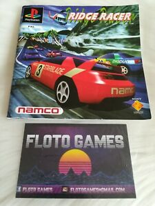 Notice de Ridge Racer pour Sony Playstation 1 PS1 - Floto Games