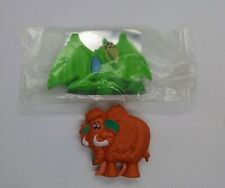 1990 Post Flinstones Fruity Pebbles Dinosaur Toy Figure Cereal Box Premiums
