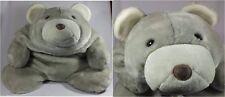 "Gund Plush Bear Snuffles Millennium Silver White 30"" FAO Schwarz #4892"