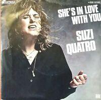 "SUZI QUATRO⚠️Unplayed-1979-7""-She's in love with you/Space Cadets-EMI 1C00863248"