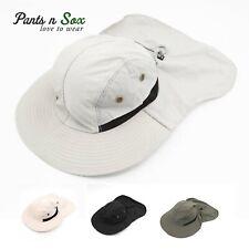 Men Back Flap Cover Legion Legionnaire Fishing Summer Outback Sun Hat Foldable