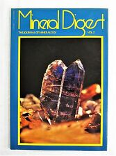 Mineral Digest Vol 2. The Journal Of Mineralogy 1972 Illustrated Magazine