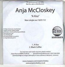 (DA904) Anja Mccloskey, A Kiss - 2012 DJ CD