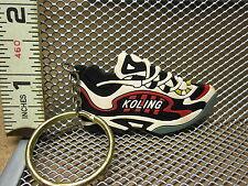 KOLING keychain rubber tennis shoe defunct Georgia company Atlanta sneaker OG