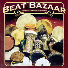Beat Bazaar - Various Artists Percussion Drums Drum Solo Beglly Dance CD