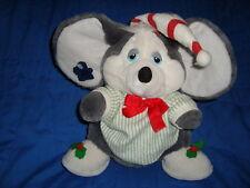 Sugarplum Mouse Vintage Christmas Plush 1987 Applause