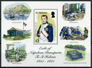 St Helena People Stamps 2016 MNH Napoleon Bonaparte Exile Longwood House 1v S/S