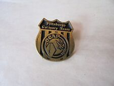 Vintage 1988 CCAP Pittsburgh Culinary Team Lapel Pin