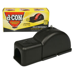 d-CON Ultra Set covered mouse trap - NEW