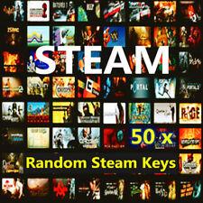 Steam Games x 50 Random Steam Keys Bundle + 2 GOLD KEY ~(Global ~ Region Free)
